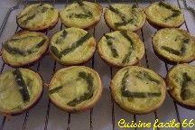 Tartelette aux asperges