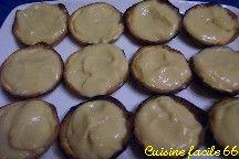 Tartelettes à la crème de marrons