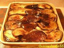Moussaka (gratin d'aubergine et hachis de viande)