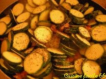 Courgettes sautées « freginat de carbassons »