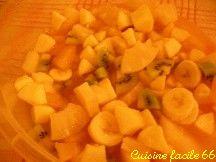 Salades de fruits d'hiver