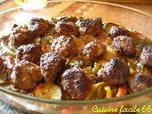 Kefta de bœuf à la menthe et au citron (brochettes de boeuf haché)