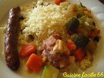 Couscous, poulet, agneau, merguez