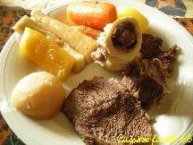 Pot au feu de bœuf aux légumes « oubliés » Carottes variées