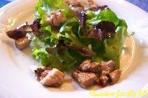 Salades verte variées au thon