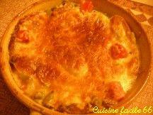 Soupe paysanne au fromage. Escudella de Pagès amb formatge