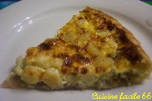 Quiche aux noix de Saint Jacques