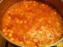 Pois chiches, saveurs marocaines, aux tomates séchées