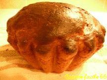 Brioche boulangère ronde, traditionnelle au beurre