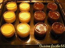 Petits pots de crème onctueuse au chocolat amer
