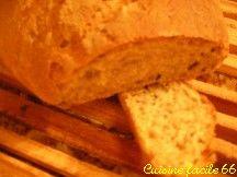 Pain de Campagne bio aux graines de sésame noir (2 pains de 380 gr)