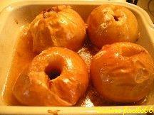 Pommes au four à la cannelle et au miel