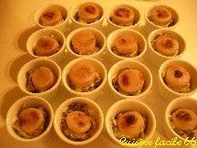 Cassolettes de boudin blanc en blanquette, champignons forestiers, Muscat