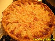 Tarte aux poires (Guyot) à la crème d'amande