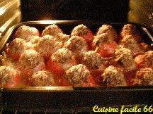 Tomates farcies (basse côte de bœuf) et origan