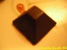 Ganache pralinée pour fourrage chocolat de Noël