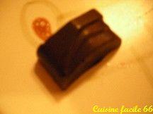 Ganache au chocolat noir, vanille, pour fourrage chocolat de Noël