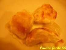 Gratin de fenouil, sauce béchamel, parmesan